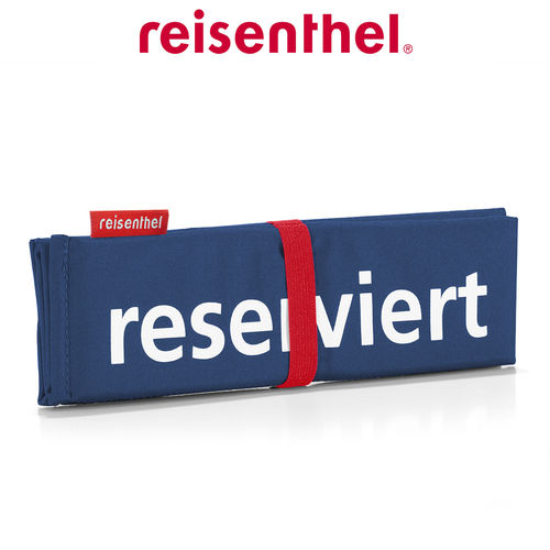 reisenthel - seatpad - dark blue