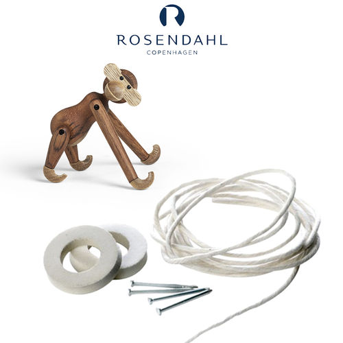 Rosendahl - Kay Bojesen Repair Set Wooden Monkey