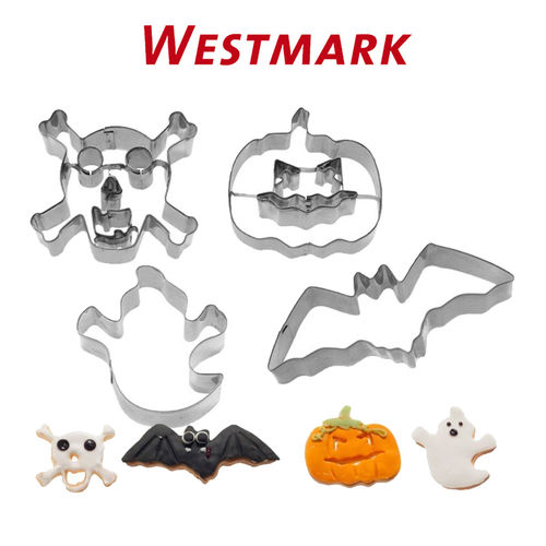 "Westmark - Set cookie cutters ""Halloween"" 4 pcs."