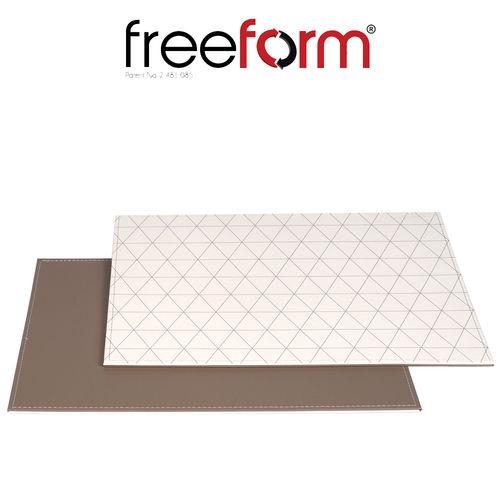 Freeform - Placemat - Triangeles Taupe - 40 x 30 cm