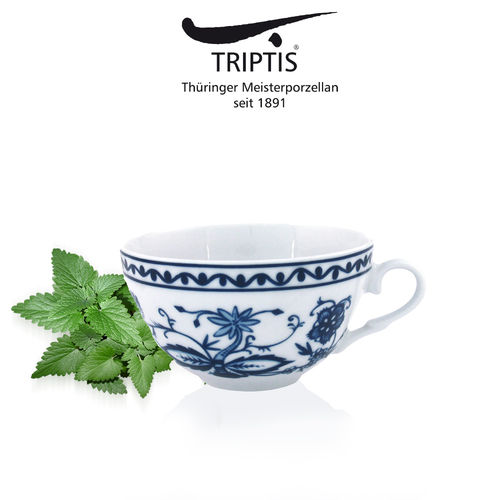 Triptis - Romantika - onion pattern - tea cup