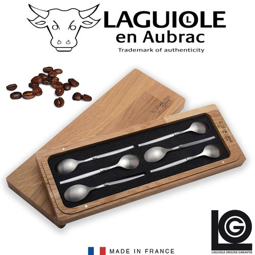 Laguiole - Mocha Spoon Set of 6