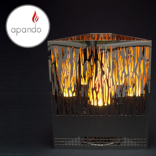 "Apando - Flame light ""Firebox"" - Vine black"