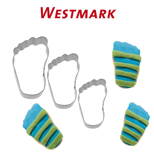 "Westmark - Set of Cookie Cutters ""Feet"" 3 pcs."