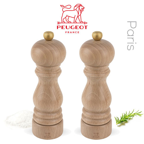 PSP Peugeot - Mill Set Pepper & Salt Mill Paris Beech Wood