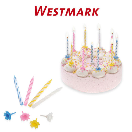 Westmark - Birthday and Party Candles 36 pcs. set