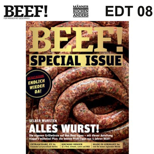 BEEF! Extra-Ausgabe Special Issue 1/2018 - Alles Wurst!
