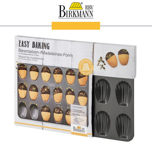 RBV Birkmann - Mould for Madeleines- Easy Baking