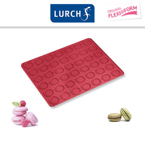 Lurch - Flexi®Form Backmatte Macarons ruby