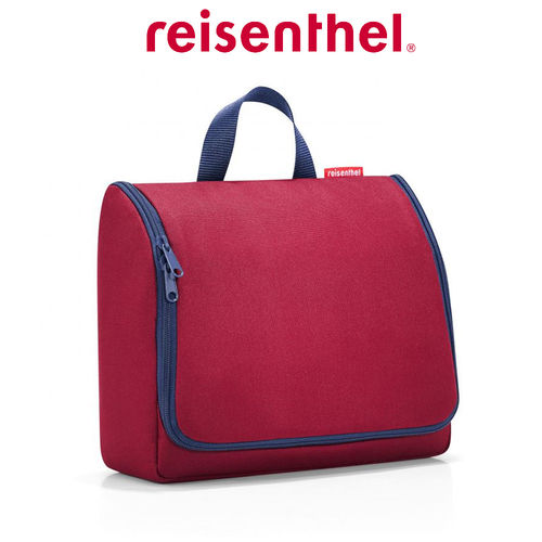 reisenthel - toiletbag XL - dark ruby