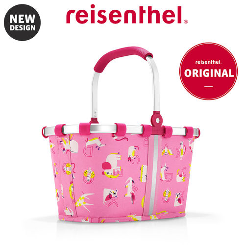 reisenthel - carrybag XS - kids - abc friends pink