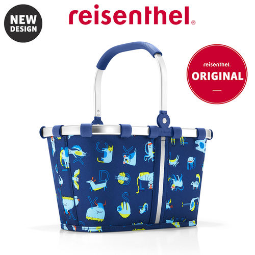 reisenthel - carrybag XS - kids - abc friends blue
