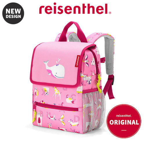 reisenthel - backpack - kids - abc friends pink