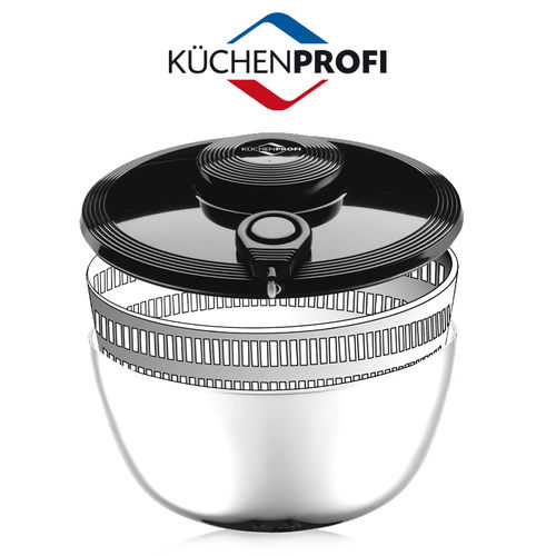 Küchenprofi - Lid of Salad spinner stainless steel