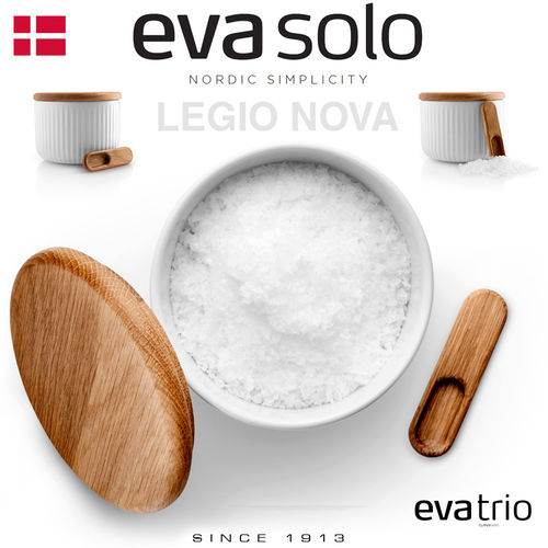 Eva Solo - Salt cellar with lid and spoon - Legio Nova