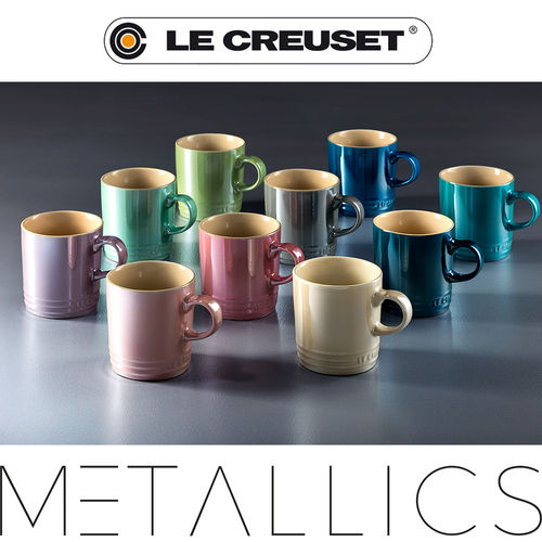 Le Creuset - Becher 350 ml Metallic