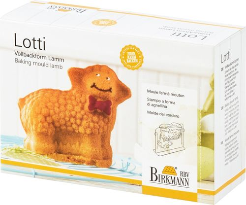 "RBV Birkmann - 3D Baking Mould ""Lotti - the Lamb"""