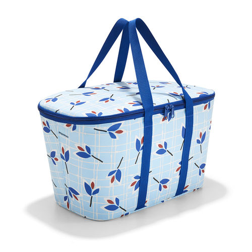 reisenthel - coolerbag - leaves blue