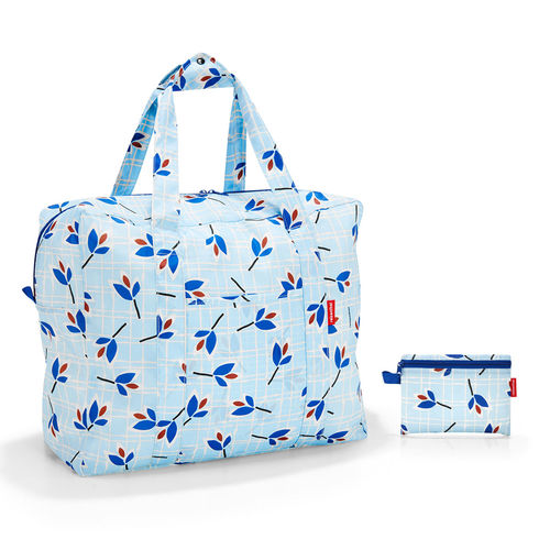 reisenthel - mini maxi touringbag - leaves blue