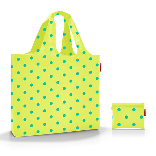 reisenthel - mini maxi beachbag - lemon dots