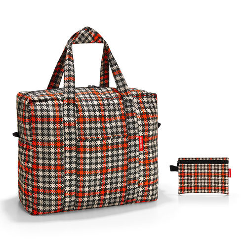reisenthel - mini maxi touringbag - glencheck red