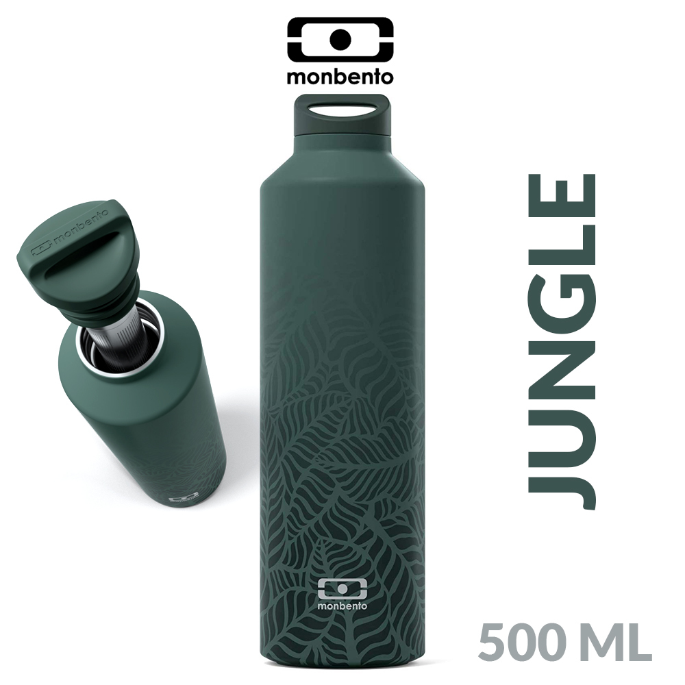 monbento - MB Steel insulated bottle 500 ml - Jungle