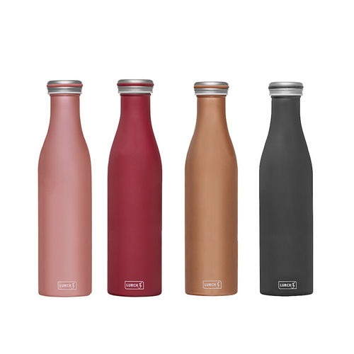 Lurch - Thermo bottle stainless steel 0,75l