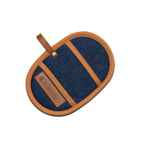 Le Creuset - Fingertip Potholders Set of 2 -  Denim