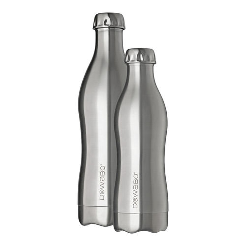 Dowabo - Double Wall Insuladet Bottle - Pure Steel Collection