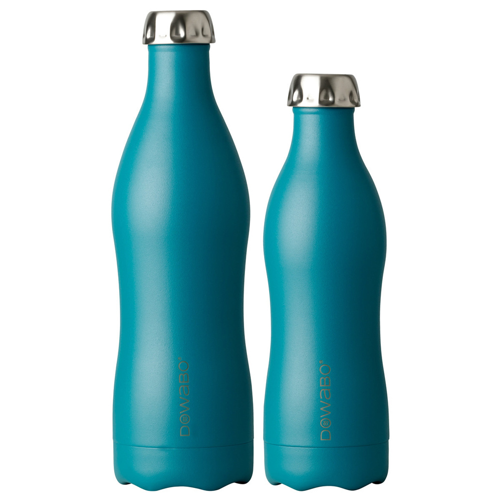 Dowabo - Double Wall Insuladet Bottle - Earth Collection Petrol