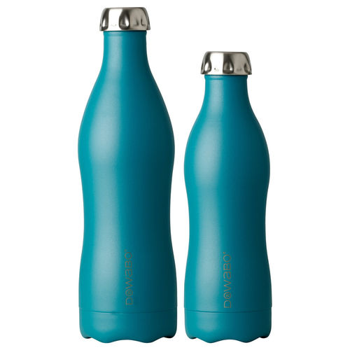 Dowabo - Doppelwandige Isolierflasche - Earth Collection Petrol