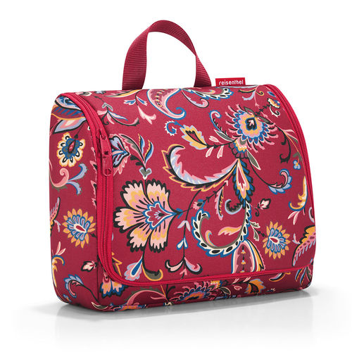 reisenthel - toiletbag XL - paisley ruby