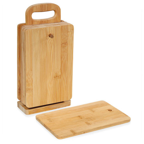 Zassenhaus - Cutting board with stand Bamboo EcoLine
