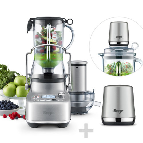 SAGE - Mixer / Juicer - the 3x Blucier Pro + the Vac Q