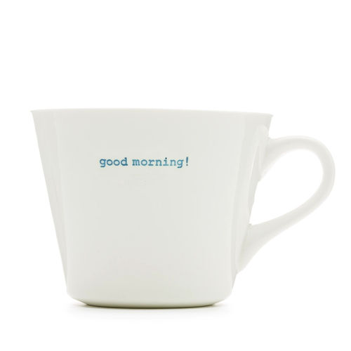 MAKE - Bucket Mug 350 ml - good morning