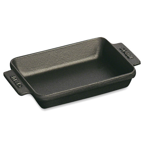 Staub - Mini Baking Dish rectangular - black