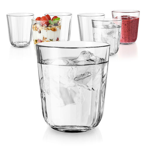 Eva Solo - Gift-packaged Facet drinking glasses 27cl - Set of 6