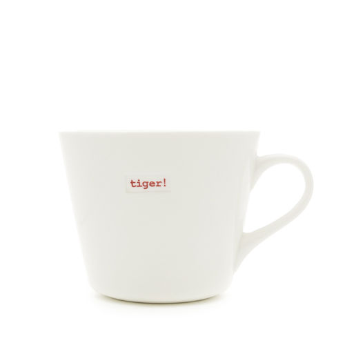 "MAKE - Bucket Mug ""tiger"" 350 ml"