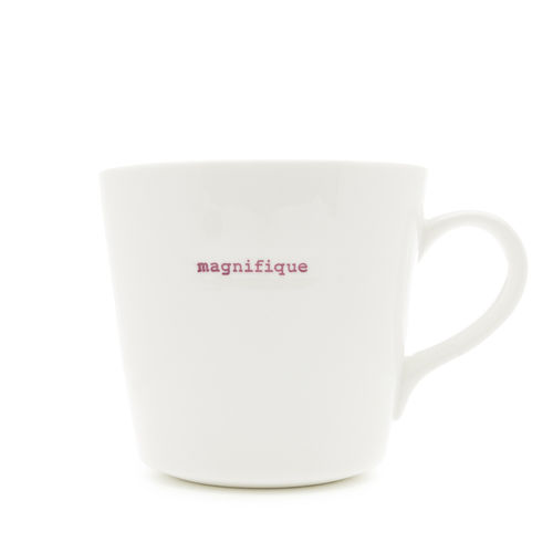"MAKE - Large Bucket Mug ""magnifique"" 500 ml"
