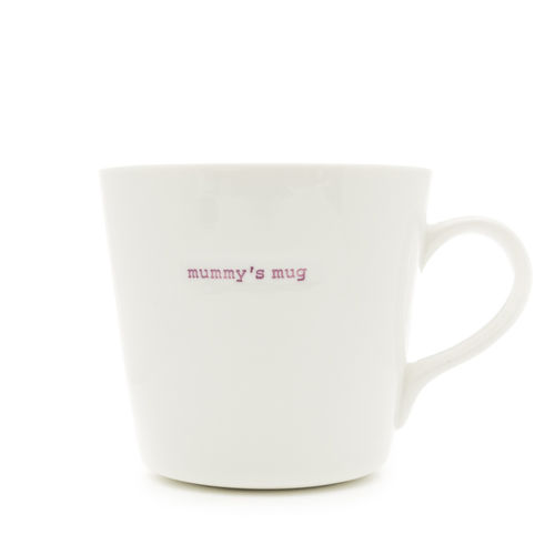 "MAKE - Large Bucket Mug ""mummy's mug"" 500 ml"