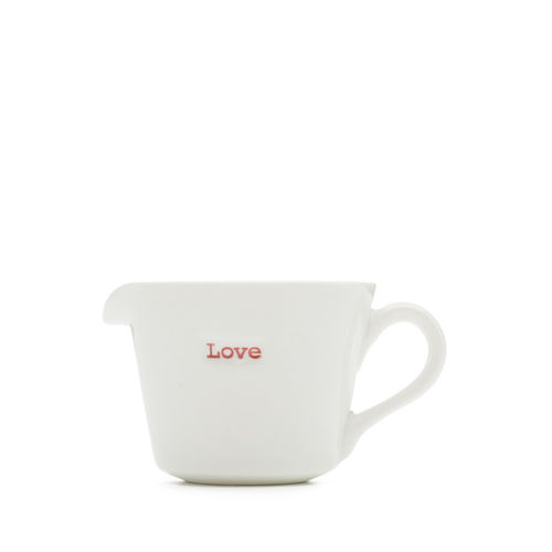 "MAKE - small jug ""love"" 50 ml"