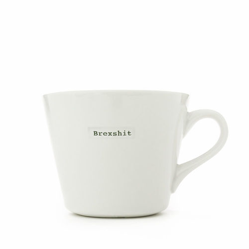"MAKE - Bucket Mug ""Brexshit"" 350 ml"
