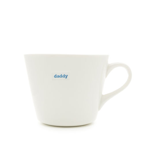 "MAKE - Bucket Mug ""daddy"" 350 ml"