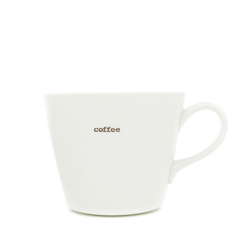 "MAKE - Bucket Mug ""coffee"" 350 ml"