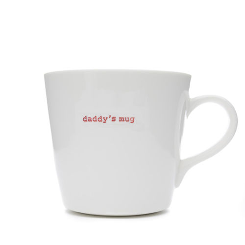 "MAKE - Large Bucket Mug ""daddy's mug"" 500 ml"