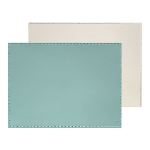 Freeform - Placemat - Mint / Ivory - 40 x 30 cm