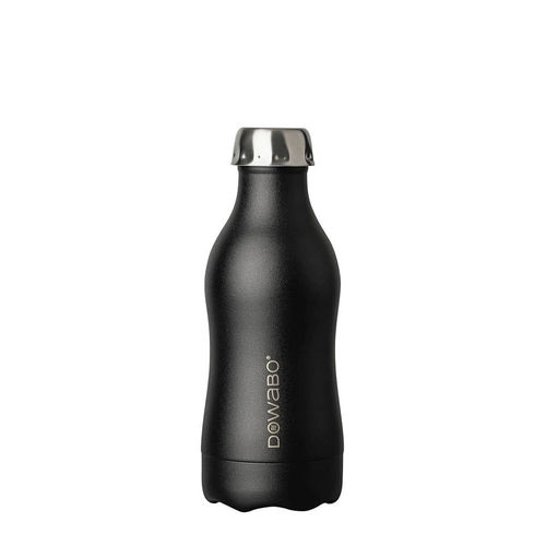 Dowabo - Double Wall Insuladet Bottle - Black Sun 350 ml