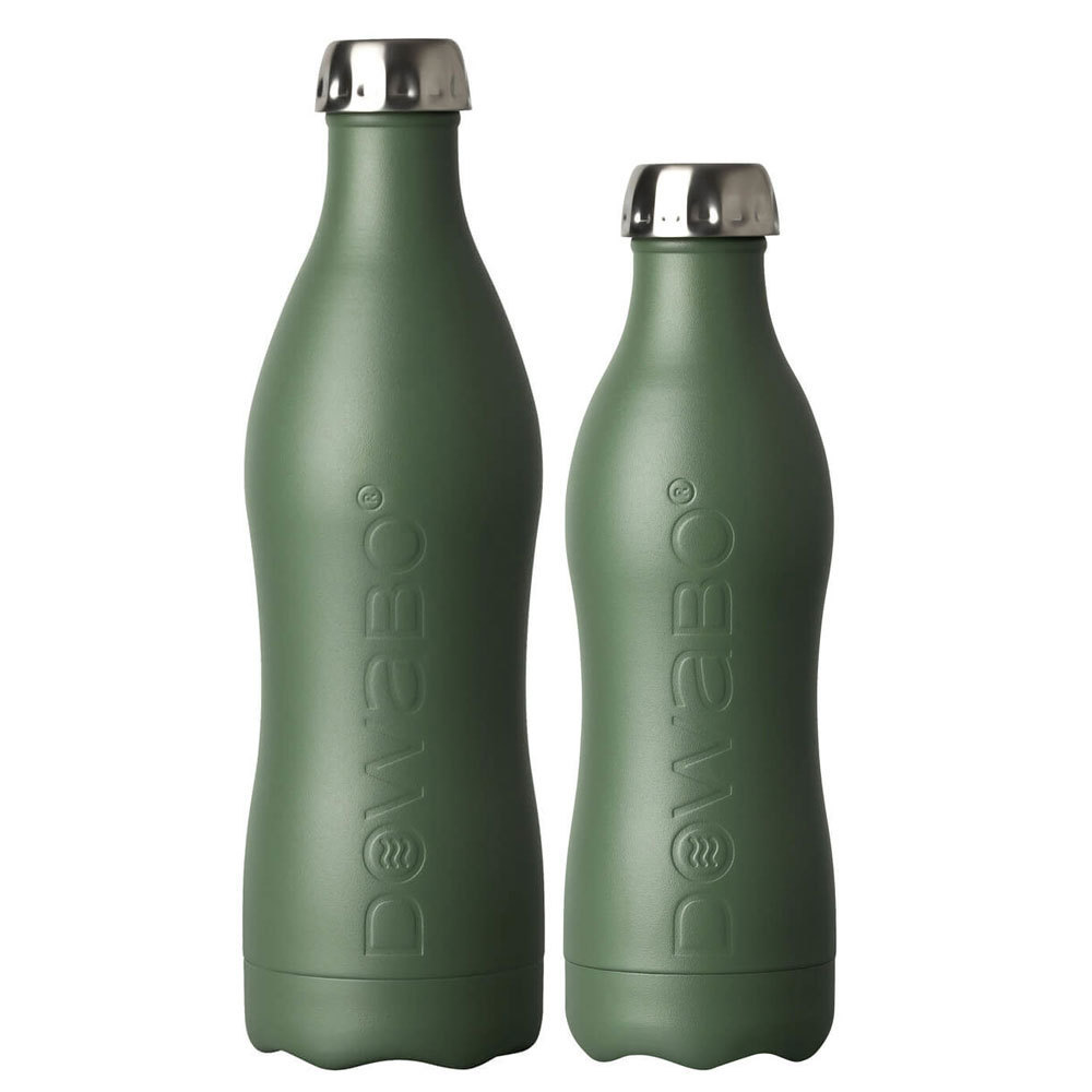 Dowabo - Edelstahl Trinkflasche - Earth Collection Olive