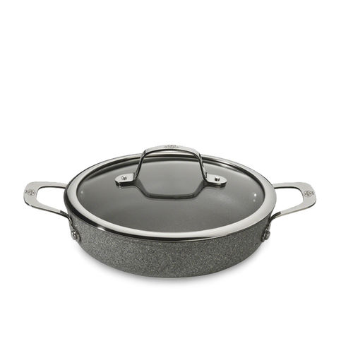 Ballarini - serving pan with glass lid - Salina granitium