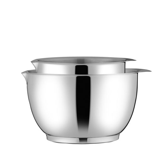Rosti - Margrethe Mixing Bowl Set 1,5 l + 3 l Steel